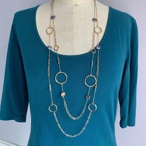 White House Black Market Freshwater pearl necklace